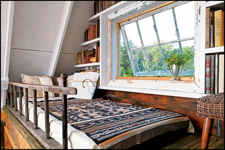 12 beautiful creative tiny house lofts living big in a tiny house Decorating A Small Cabin Loft