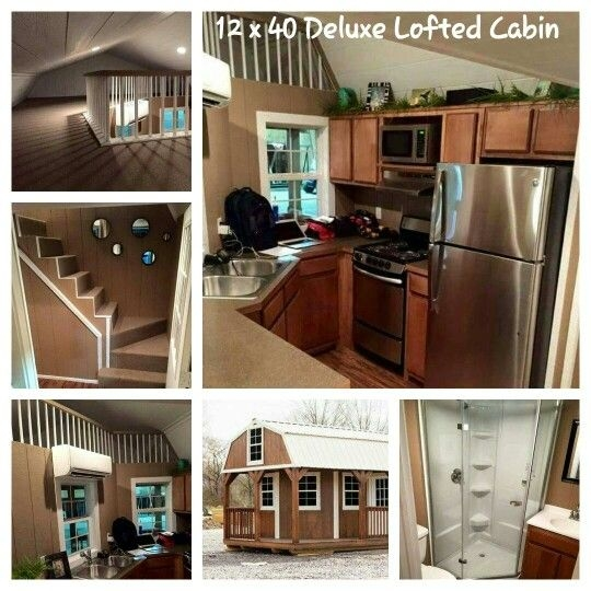 12 x 40 deluxe lofted barn cabin littletiny houses pinterest Deluxe Lofted Barn Cabin Floor Plans