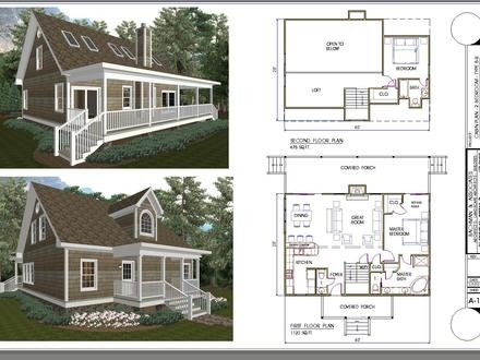 2 bedroom house plans with loft marvellous ideas 9 24 x 32 tiny 2 Bedroom Cabin Plans With Loft