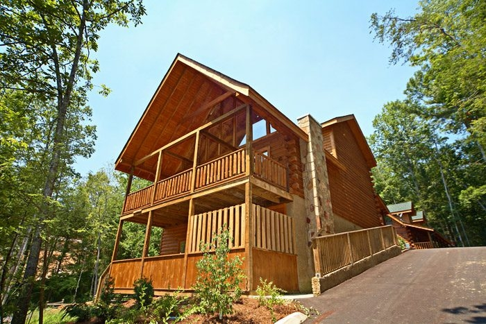 5 bedroom pigeon forge cabin rental in mountain park resort 5 Bedroom Cabins In Gatlinburg Tn