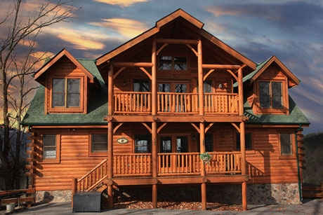 8 bedroom bedrooms smoky mountain cabin rentals 7 Bedroom Cabins In Gatlinburg