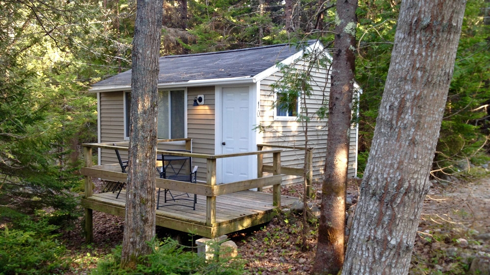 acadia cottages Cabins In Acadia National Park