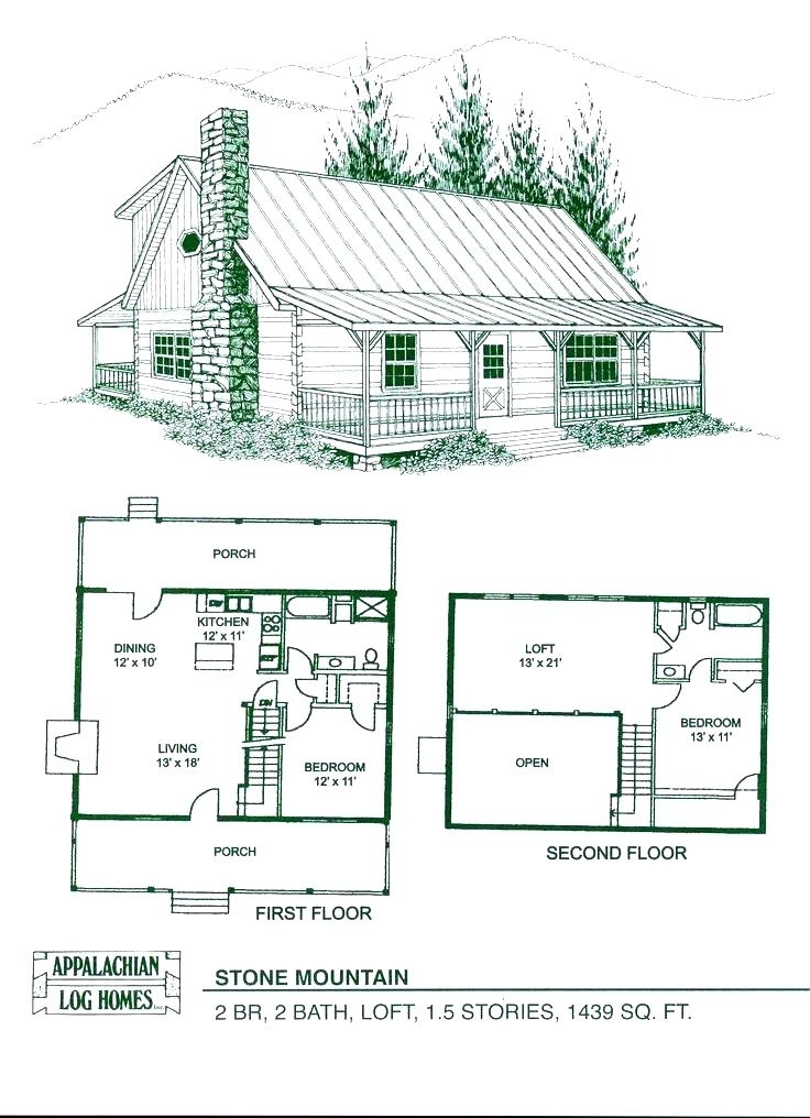 awesome 2 bedroom 2 bath log cabin floor plans log cabin plans 2 Bedroom Cabin Plans With Loft