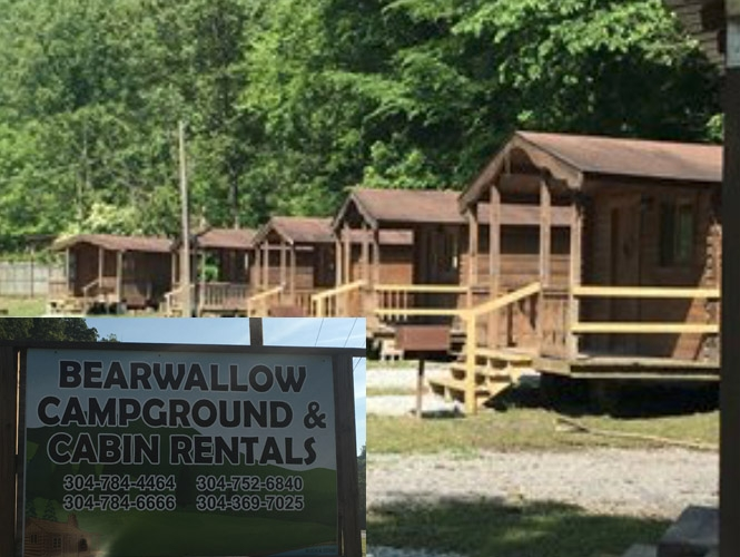 bearwallow campground and cabin rentals ride hatfield mccoy Hatfield Mccoy Trails Cabins