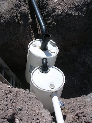 best diy barrel septic system ideas cabin design plans Small Septic Tank For Cabin