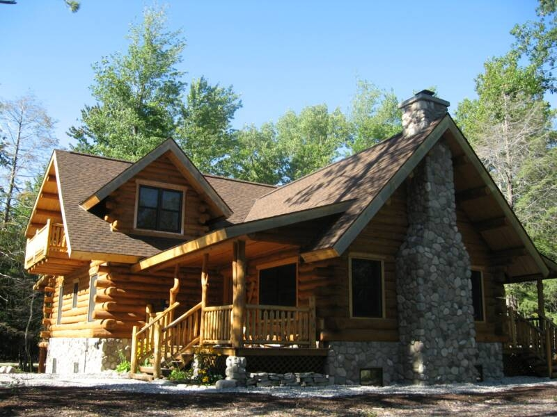 best style log cabin style home for great escapism that you must Log Cabin Style House Designs
