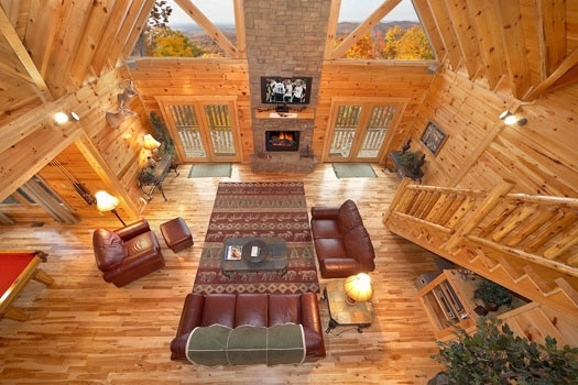 big sky lodge a gatlinburg cabin rental 3 Bedroom Cabins In Gatlinburg