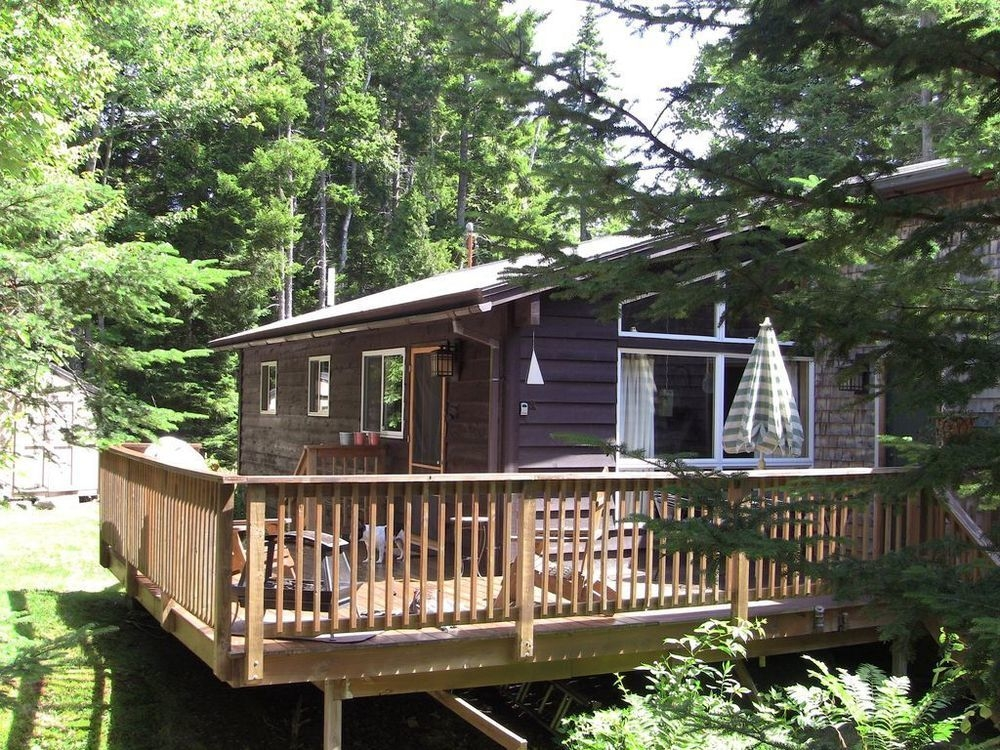 blissful cabin retreat on the quietside of acadia national park Acadia National Park Cabins
