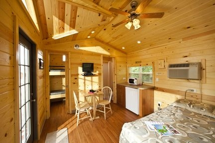 cabins improve camping options mlive Michigan Campgrounds With Cabins
