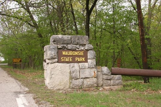 camping at waubonsie state park ia Iowa State Parks With Cabins