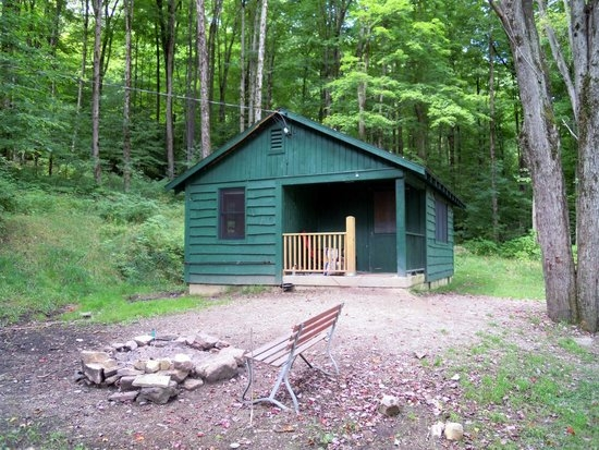 congdon cabin picture of allegany state park campground salamanca Allegheny State Park Cabins
