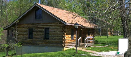 dnr harmonie state park Indiana State Parks With Cabins