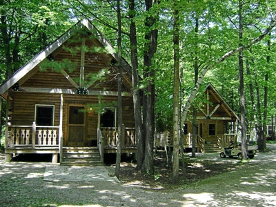 door county campground tranquil timbers camping retreat home page Cabin Camping In Wisconsin
