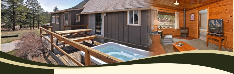estes park cabin valhalla resort Estes Park Cabins With Private Hot Tubs