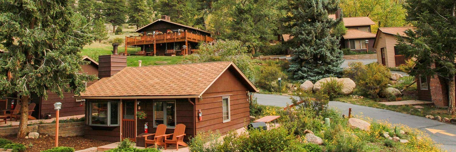 estes park cabins mcgregor mountain lodge lodging resorts inns Cabins Near Rocky Mountain National Park