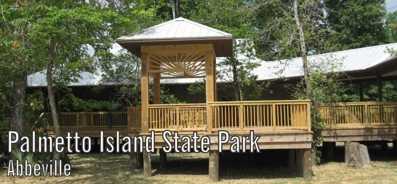 event and meeting rentals louisiana state parks Palmetto State Park Cabins