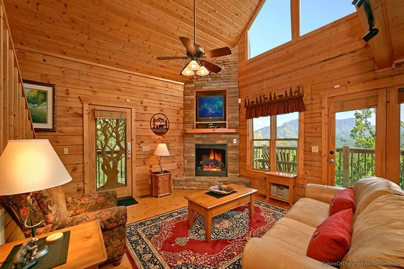 gatlinburg tn cabins smoky mountain rentals from 85 Smoky Mountain Cabins With Pool