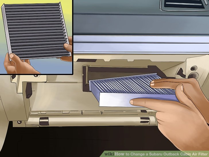 how to change a subaru outback cabin air filter 9 steps Subaru Outback Cabin Air Filter