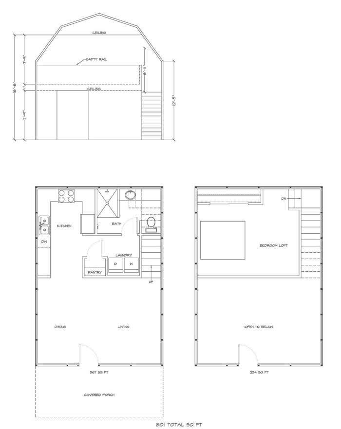Permalink to Best 14×40 Lofted Barn Cabin Floor Plans Ideas