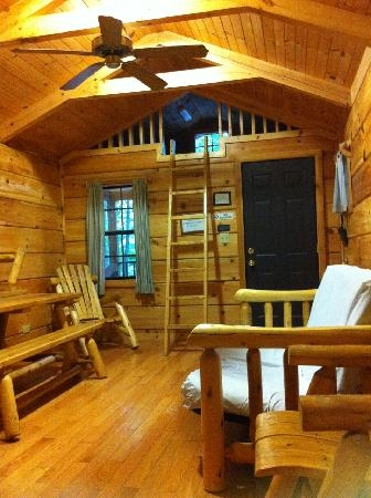 interior of cabin picture of mark twain state park florida Mark Twain State Park Cabins