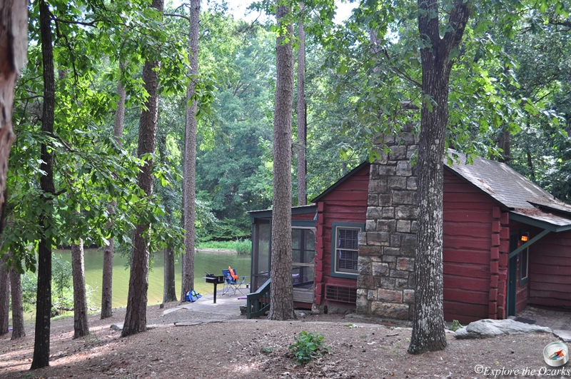 lake catherine state park of arkansas explore the ozarks Arkansas State Park Cabins