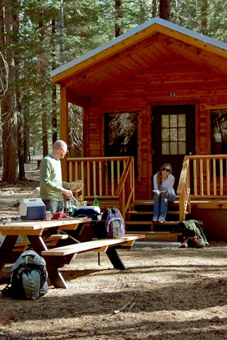 lassen volcanic national park lassen guest services lassen visitor Manzanita Lake Camping Cabins