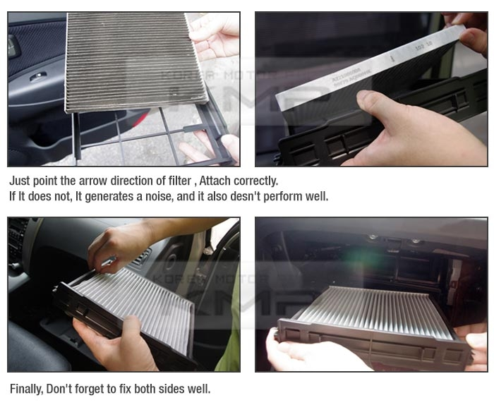 lg hausys cabin air filter cabiner hy 011 for hyundai 2006 2007 nf Hyundai Sonata Cabin Air Filter