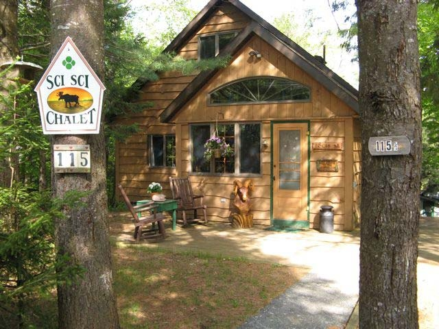old forge sci sci chalet on the moose river vacation rentals Moose Country Cabins Old Forge Ny