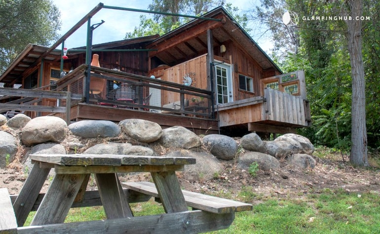 pet friendly cabin near sequoia national park california Sequoia National Forest Cabins
