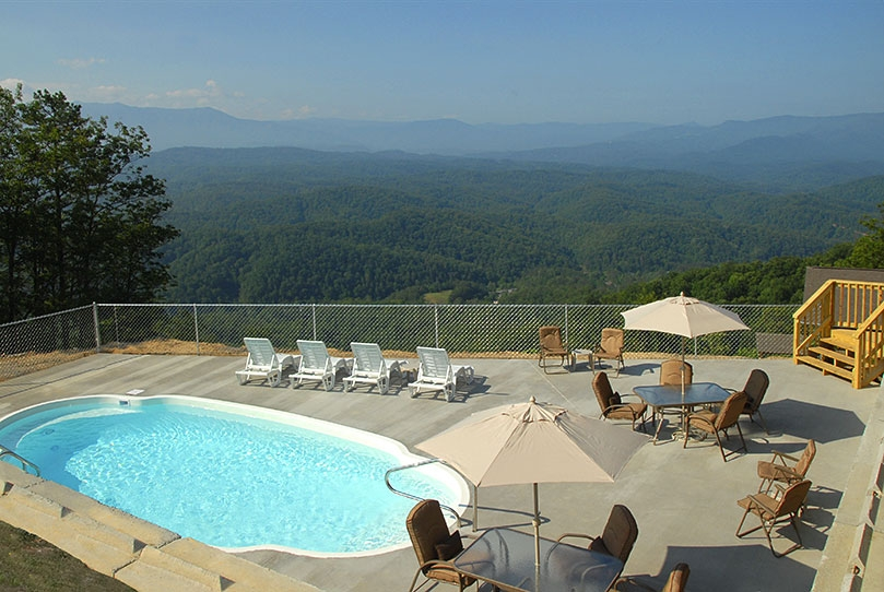 pigeon forge cabin rentals with private pools spectacular views Gatlinburg Cabins With Private Pools