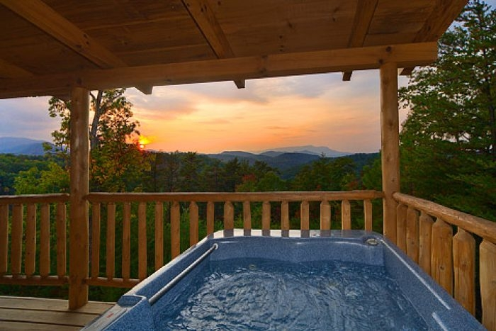 private cabin with hot tub pigeon forge gatlinburg Cabins In Gatlinburg Tn With Hot Tub