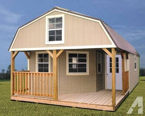 rent to own storage sheds buildings barns cabins no credit Lofted Barn Cabin Rent To Own