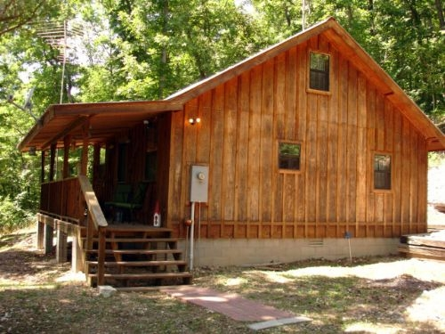 rustic furnished cabin 10 acres ranch for sale mountain view Mountain View Arkansas Cabins