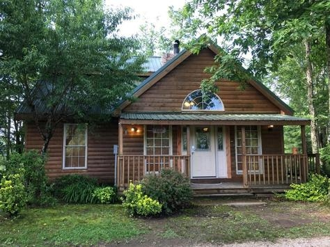 scenic cabin rentals in red river gorge and natural bridge kentucky Daniel Boone National Forest Cabins