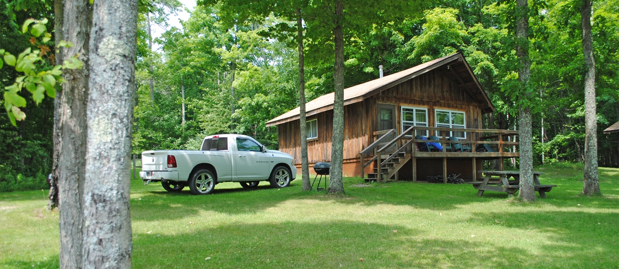 shermans resort cabin rentals campground south manistique l Pet Friendly Cabins In Michigan