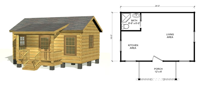 small log cabin kits log homes southland log homes Cost To Build A Small Cabin