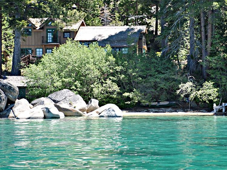 tahoe lakefront cabins truckee real estate and lake tahoe real Lake Tahoe Cabins Lakefront