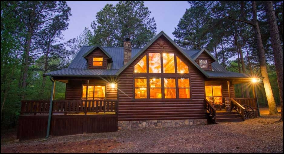 texas two step cabin rentals beavers bend lodging Cabins With Hot Tubs In Texas