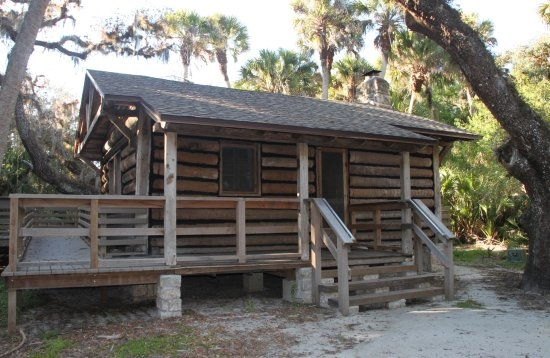 the rear entrance to cabin 1 picture of myakka river state park Myakka River State Park Cabins