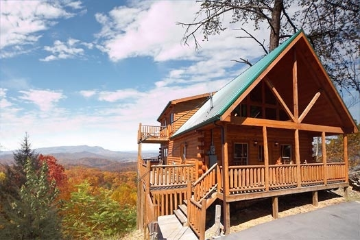 the view a gatlinburg cabin rental 2 Bedroom Cabins In Gatlinburg Tn