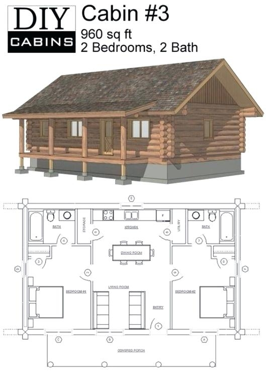 tiny cabin floor plans small cabin plan with loft small cabin house Small Cabin House Plans Loft
