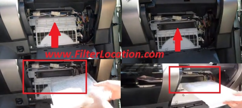 toyota 4runner cabin air filter location 2010 Prius Cabin Air Filter
