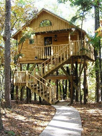 treehouse cottages updated 2018 prices campground reviews Cabins Near Eureka Springs