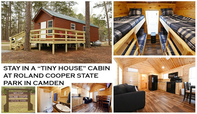 try the tiny house lifestyle for a week at this alabama state park Cabins In Alabama State Parks