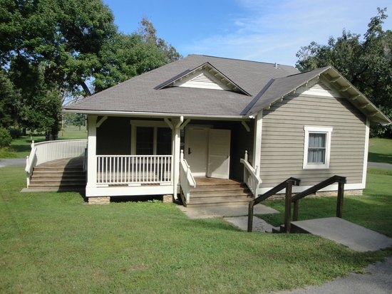 two bedroom cabin with wrap around deck and screened porch picture Kentucky Dam Village Cabins