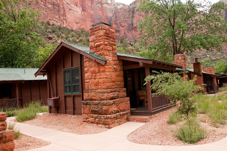 usa utah zion national park the lodge only lodging in park and Cabins In Zion National Park