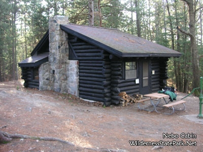 wilderness state park carp lake mi living new deal Michigan State Parks Cabins
