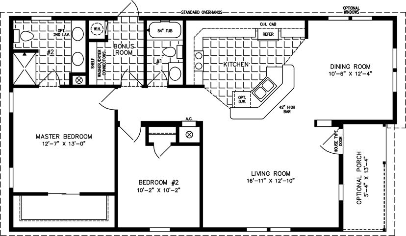 1000 sq ft house plans bedrooms 2 baths square feet 1191 1000 Sq Ft Cabin Floor Plans