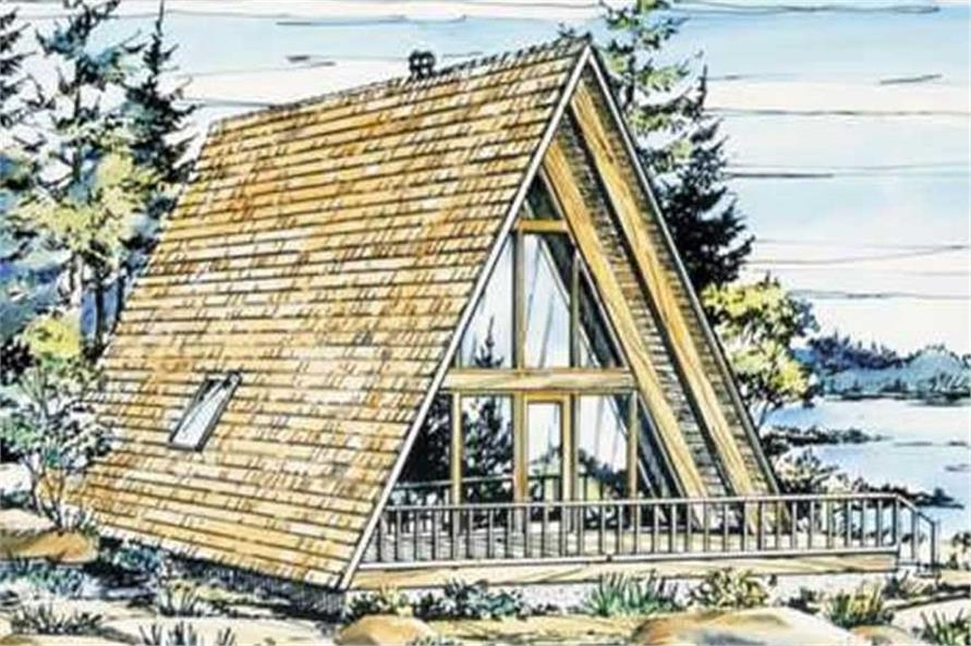 a frame house plans home design ls h 15 1 A Frame Cabin With Loft Plans