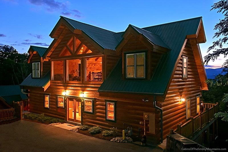Stunning Mountain Cabins In Tennessee